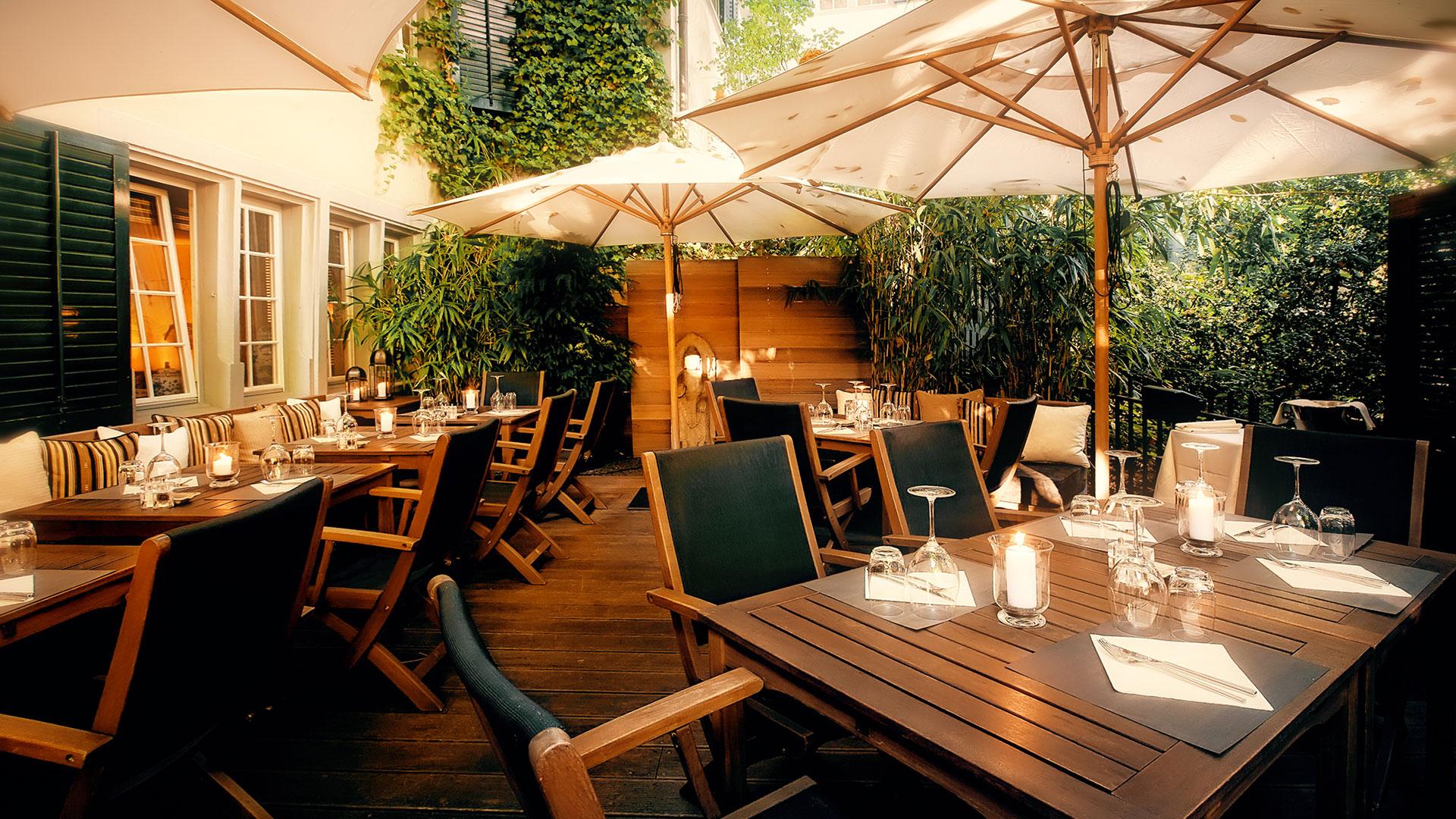 Garten terrasse  Taos Restaurant Bar Zurich – Restaurant, Bar und Smoker's Lounge ...