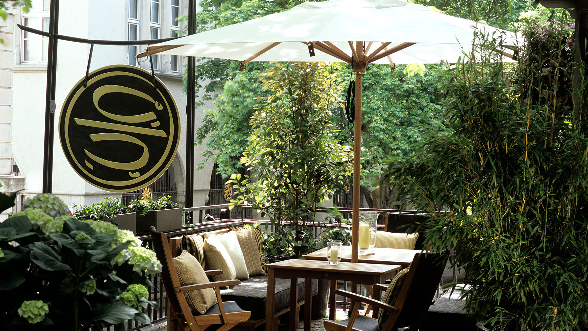 terrasse garten taos restaurant bar zurich. Black Bedroom Furniture Sets. Home Design Ideas